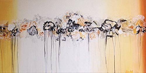 Schilderij Flowery Garden   Atelier Amleh Art