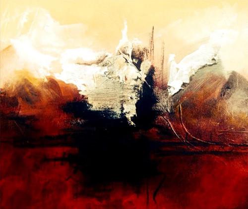 Schilderij Lake   Atelier Amleh Art